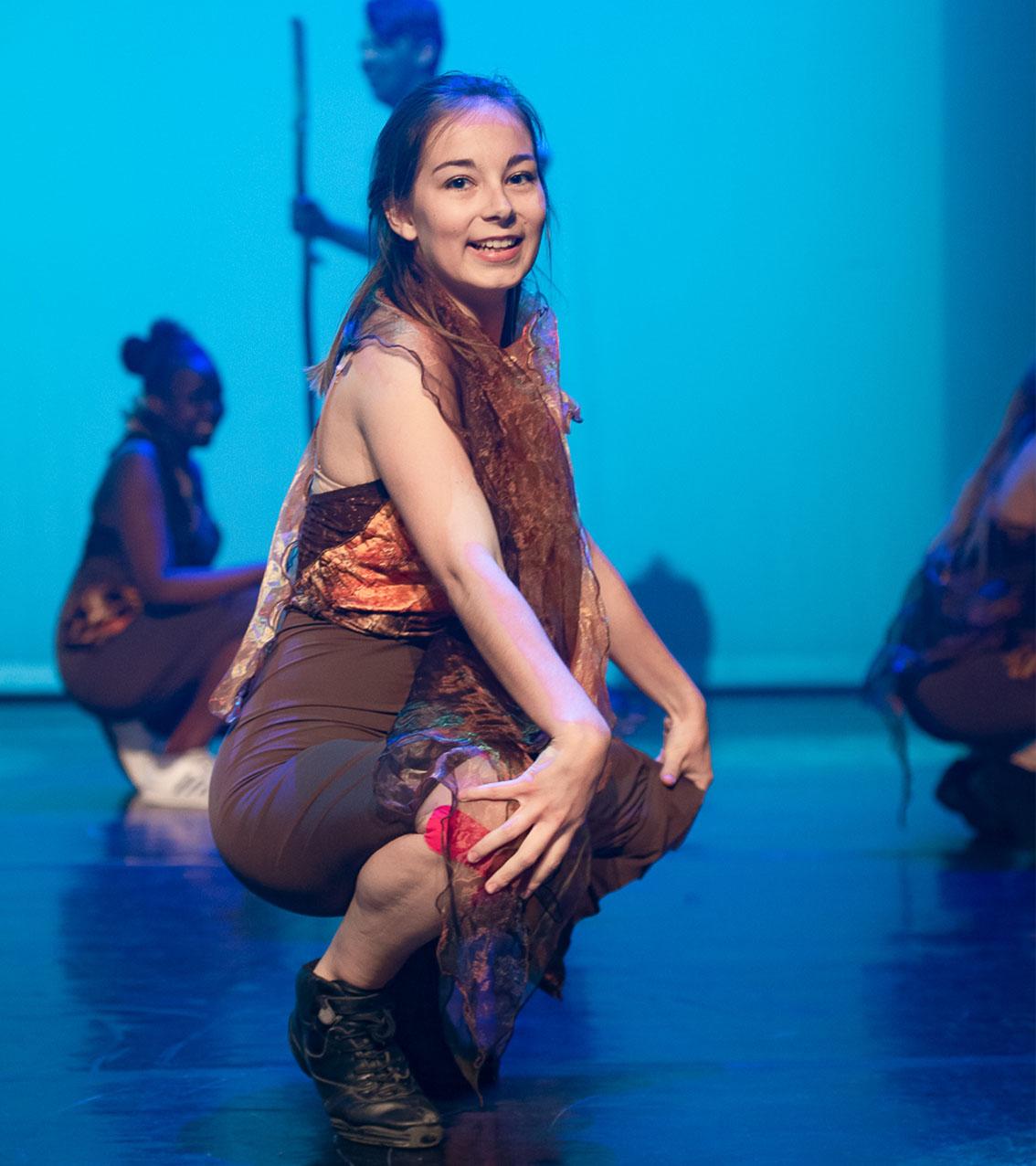 prof de danse Clémence